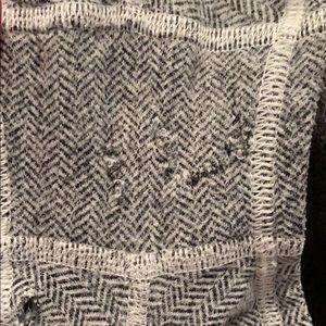 lululemon athletica Tops - grey lulu size 4 booty shorts